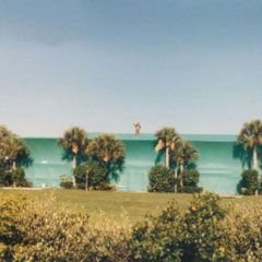 1990's<br />One of the largest condominiums on Anna Maria is fumigated